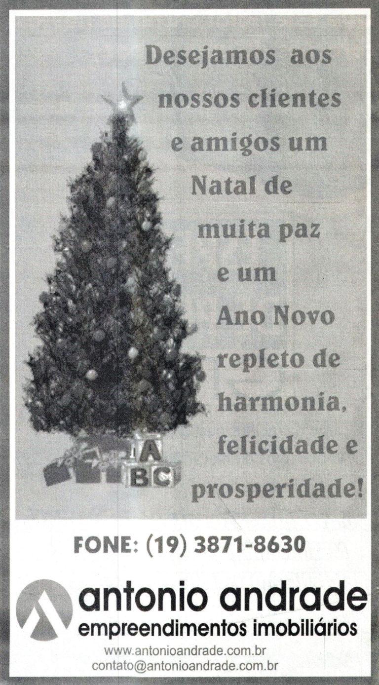 Feliz Natal & Ano Novo